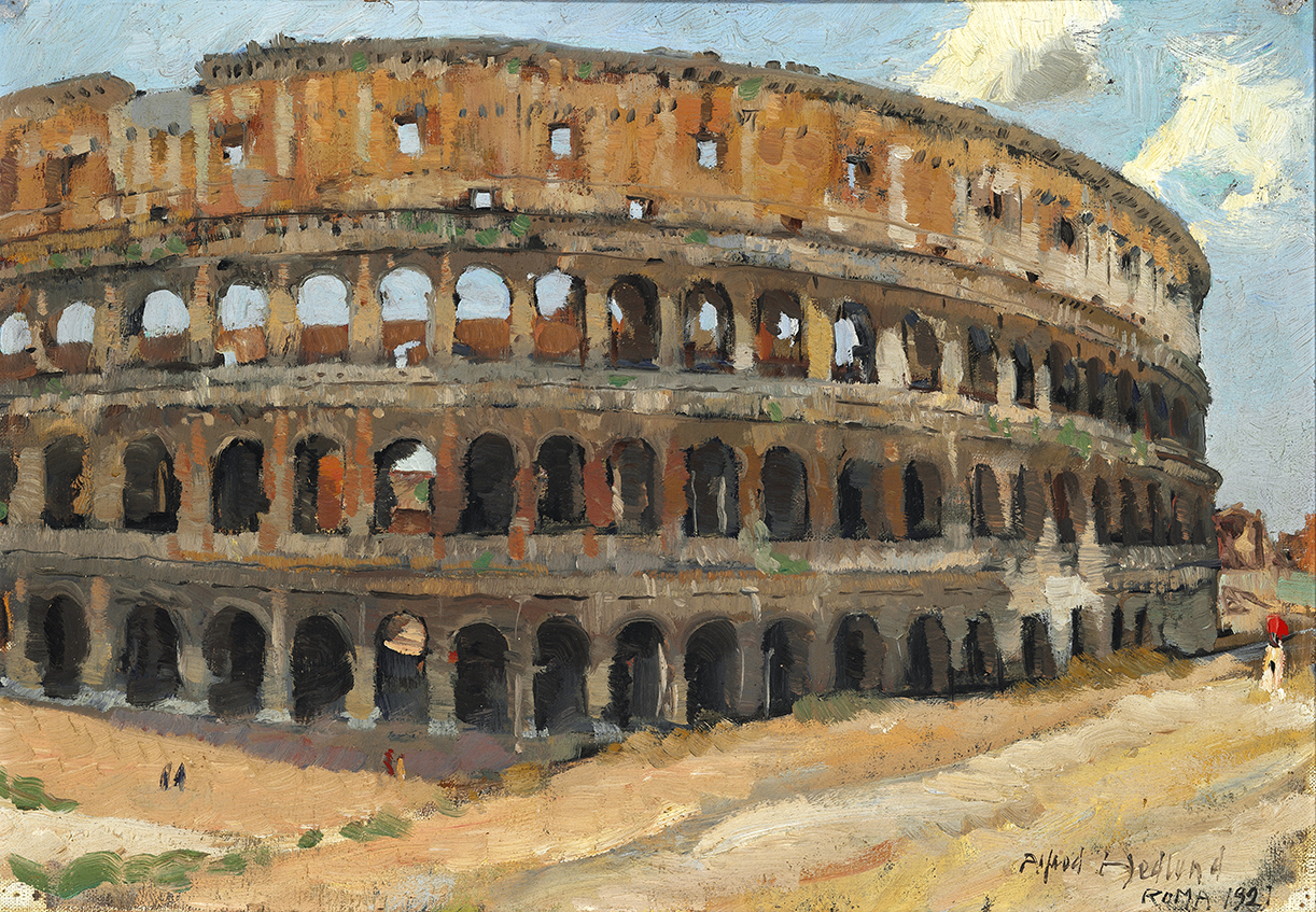 Alfred Hedlund Colosseum in Rome – James Bauerle