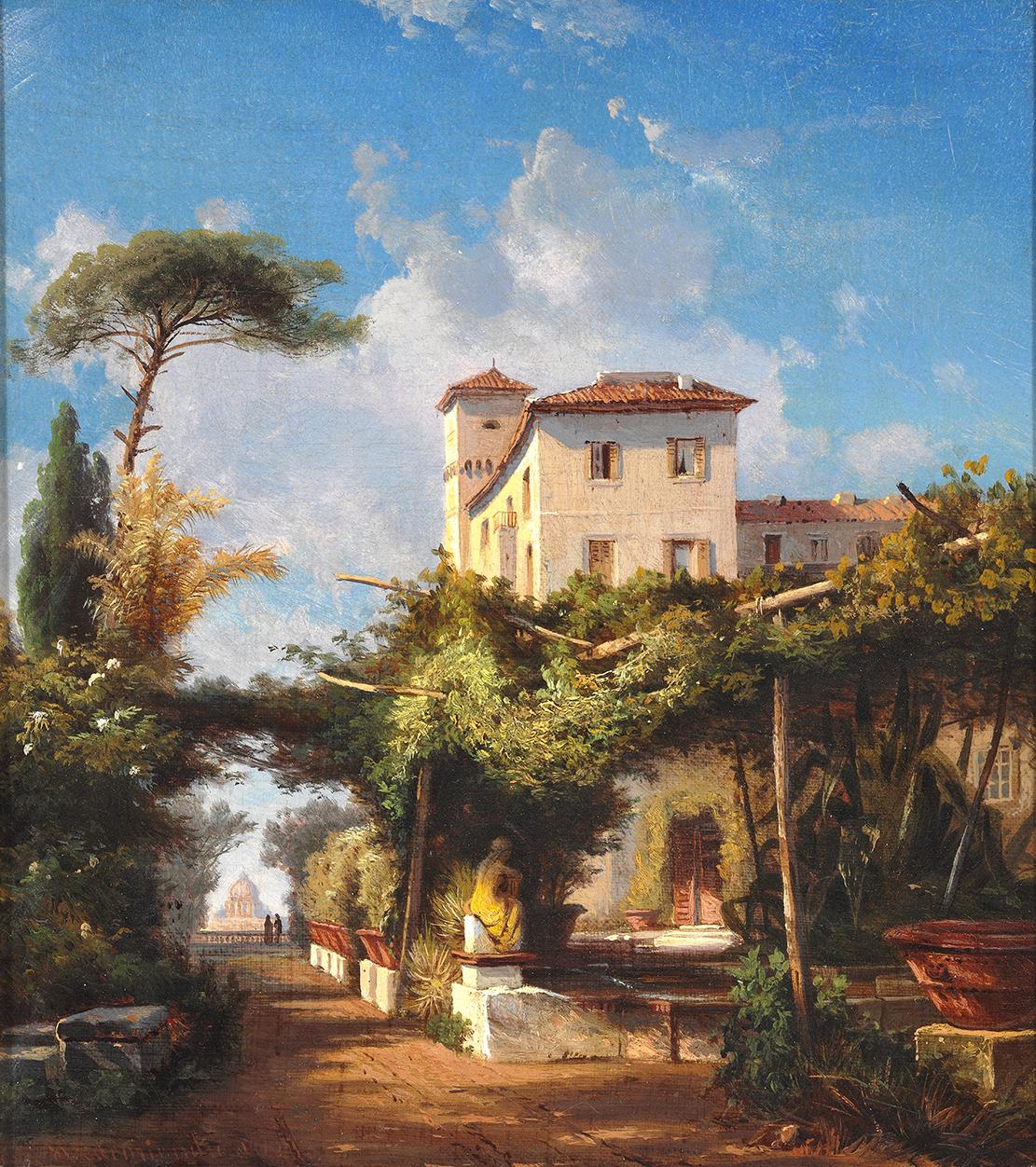 Hermann Carmiencke Rome – James Bauerle