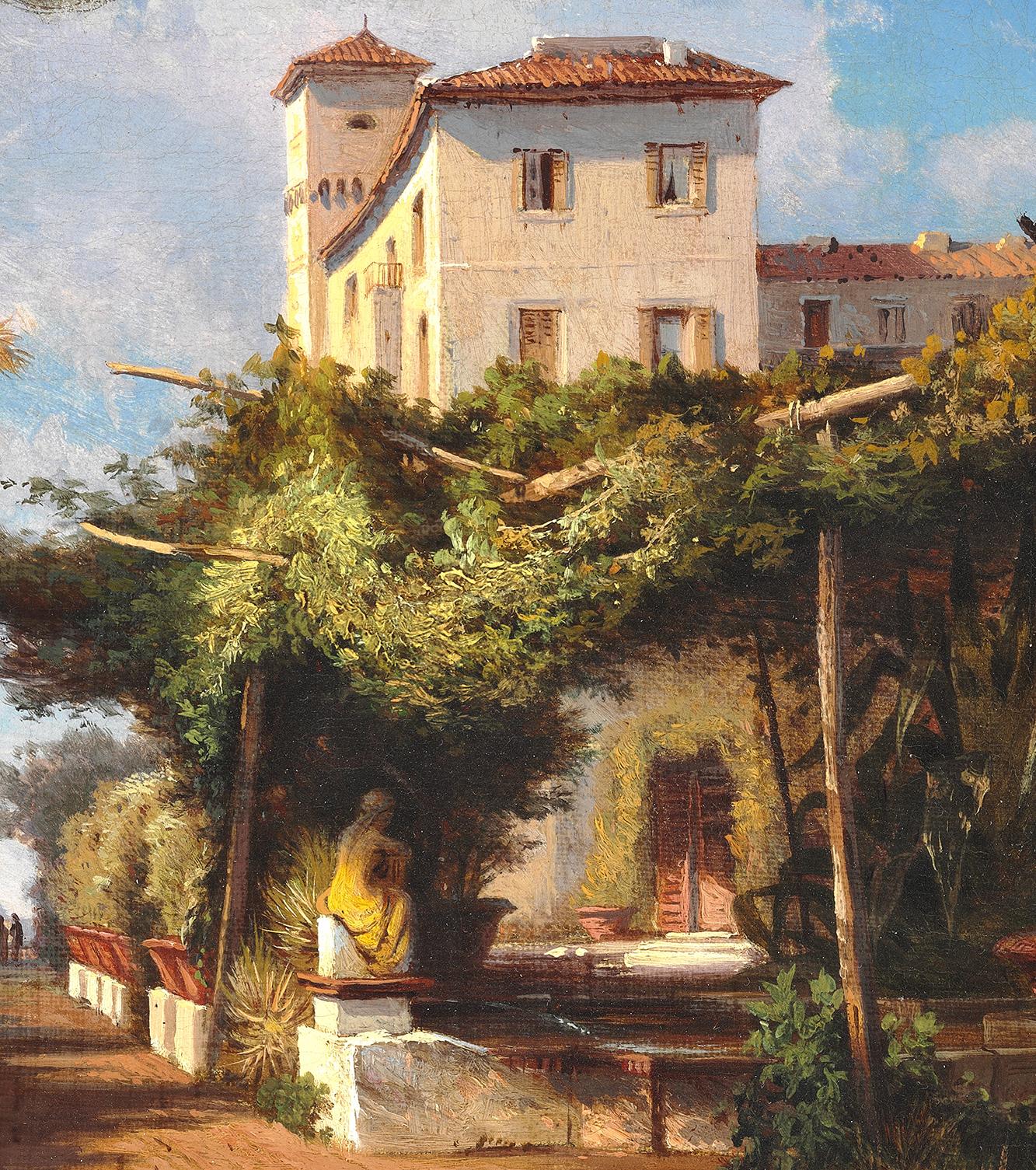 detail Hermann Carmiencke Rome – James Bauerle