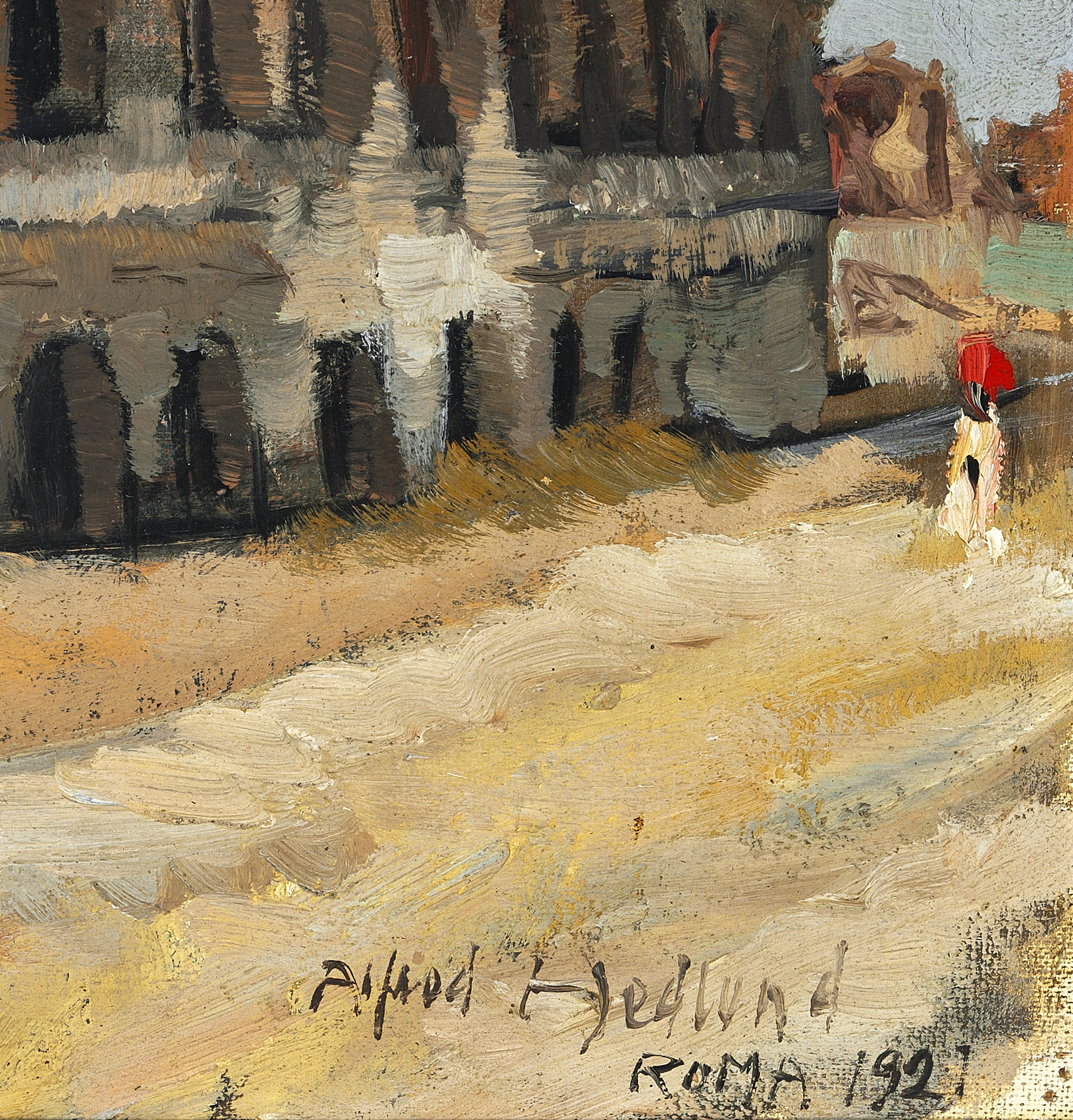 _ Alfred Hedlund Colosseum in Rome – James Bauerle