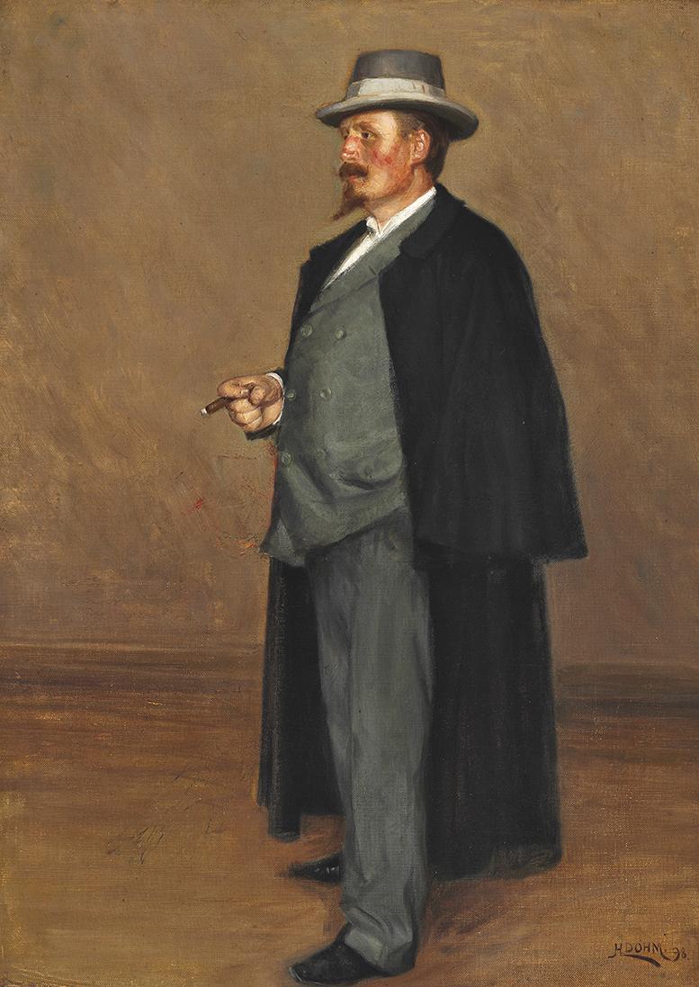 Heinrich Dohm Emmery Rondahl – James Bauerle Danish fine Art
