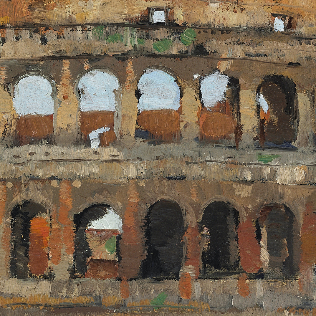det Alfred Hedlund Colosseum in Rome – James Bauerle